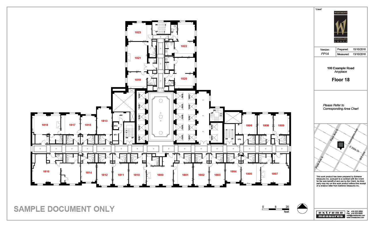 Hospitality Sample Floor Plan