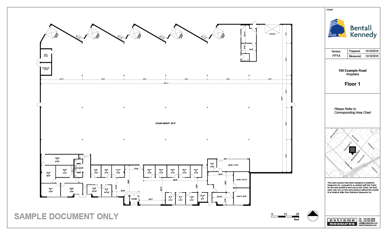 Industrial Sample Floor Plan